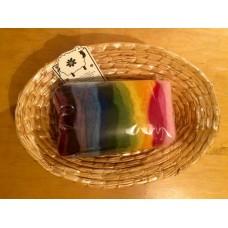 Ovčí vlna barvená přírodními barvivy 60g