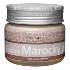 Tělová a pleťová maska Marocký jíl, Saloos