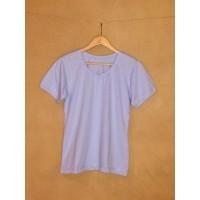 Dámské tričko biobavlna  krátký  rukáv modré