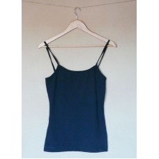 Dámská spodní košilka biobavlna - barva černá - doprodej