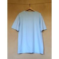 Pánské  tričko biobavlna krátký  rukáv  světle modrá