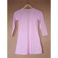 Noční košile  biobavlna  růžová