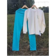 Chlapecké (dívčí)  pyžamo s obrázkem - prodloužená délka kalhot