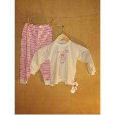 Pyžamo biobavlna  holčička  vel. 92- výprodej