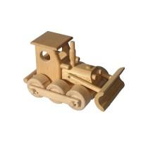 Buldozer dřevěný