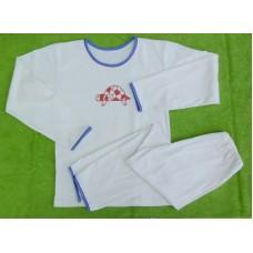 Chlapecké (dívčí)  pyžamo biobavlna s želvou vel. 146