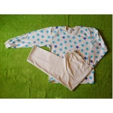 Chlapecké (dívčí)  pyžamo s potiskem hvězdiček vel. 152