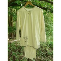 Dámské pyžamo z biobavlny s obrázkem vel. L