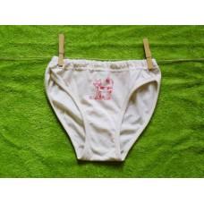 Dívčí spodní kalhotky s kočičkou  128  nižší pas