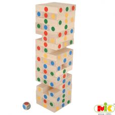 Dřevěná věž  Jenga velká