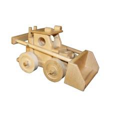 Dřevěný nakladač - bagr Bobík
