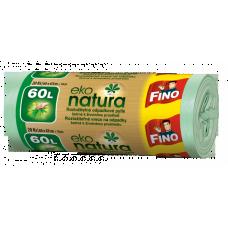 Fino Eko Natura Pytle na odpad - 60 l (20 ks) - doprodej