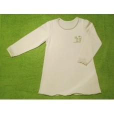 Noční košile  biobavlna s kočičkou zelenou vel. 110
