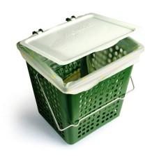 Odvětrávaný koš BioMat AirBox® Single (7 litrů)