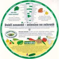 Otočné kolečko - rádce pro sázení zeleniny a ovoce