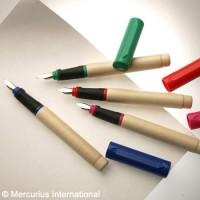 Plnící dřevěné pero Mercurius