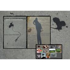 Pohlednicová knížka - 12 pohlednic Láska je všude