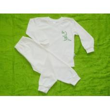 Pyžamo biobavlna  krokodýl