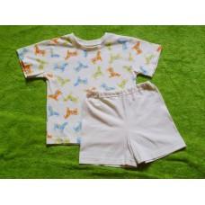 Pyžamo letní  koníčkové