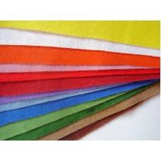 Sada filců 14 barev, 30x20 cm