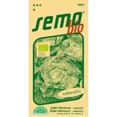 Salát hlávkový MERKURION - BIO osivo - 0,6g
