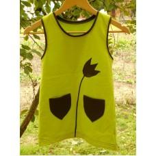 Šaty dívčí  biobavlna,  pův. 355,-