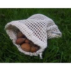 Síťovinový sáček na ovoce a zeleninu malý   Re-Sack Small z  biobavlny