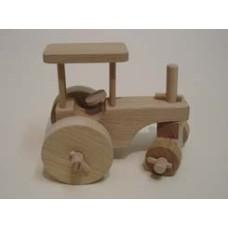 Traktor dřevěný - akce