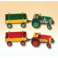 Traktor ZETOR s valníkem