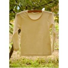 Tričko  dívčí biobavlna  přírodní
